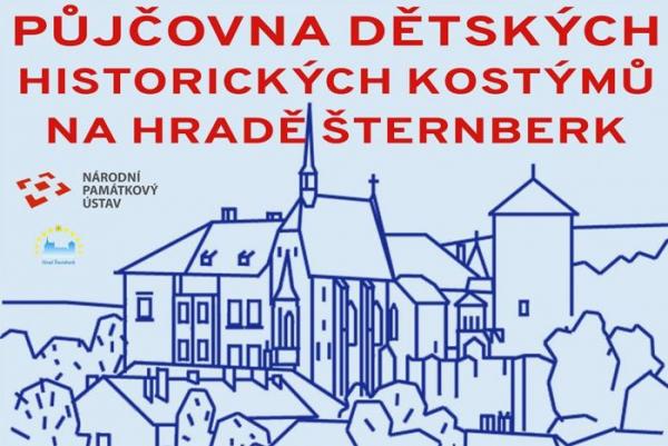 Speciální dětské prohlídky a půjčovna dětských kostýmů na hradě Šternberk cca26c1d2e1